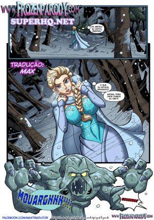 Frozen Parody - Savior's Hard Dick
